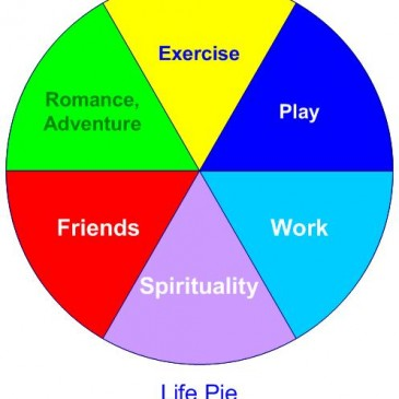 Strategies for having the life you want: Life Pie